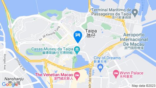 Inn Hotel Macau Map