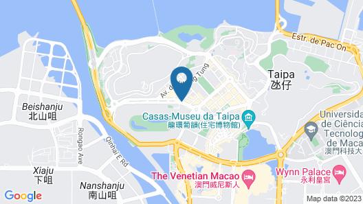 Grandview Hotel Macau Map