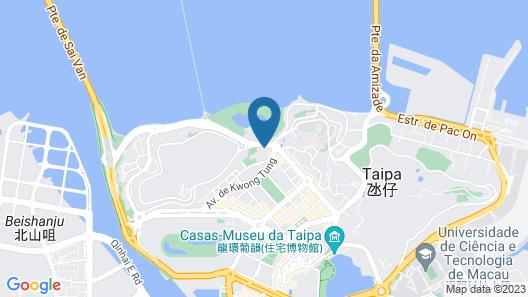 Regency Art Hotel Macau Map