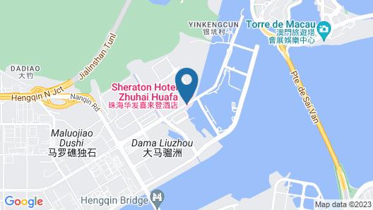 The St. Regis Zhuhai Map