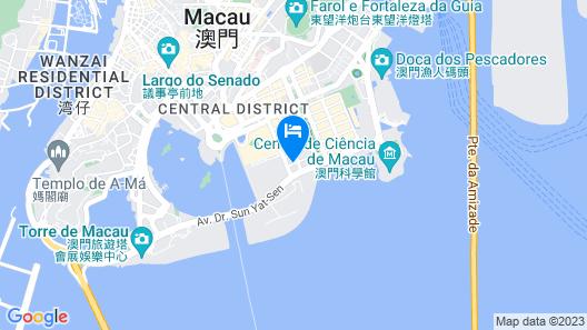 Ascott Macau Map