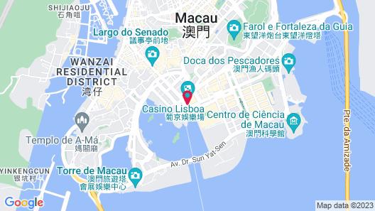 Hotel Lisboa Map
