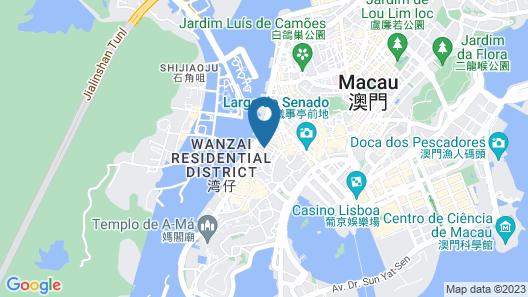 Macau Hotel S - (Formerly - Macau Hotel Sun Sun) Map