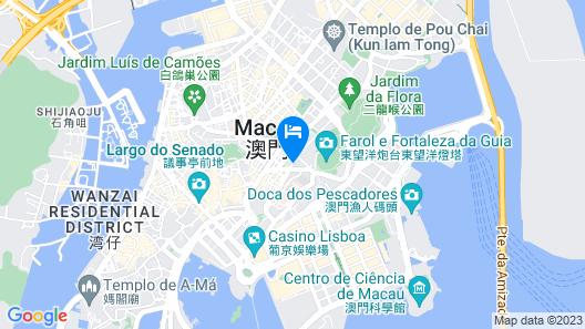 Hotel Royal Macau Map