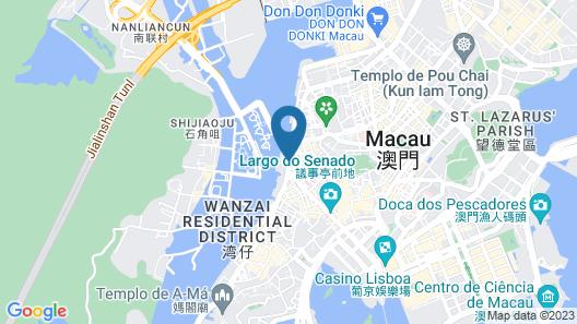 Sofitel Macau At Ponte 16 Map