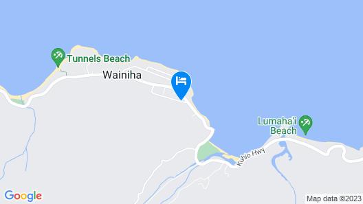Hale Ho'o Maha Bed & Breakfast Map