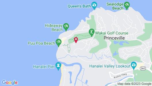 Hanalei Bay Resort Map
