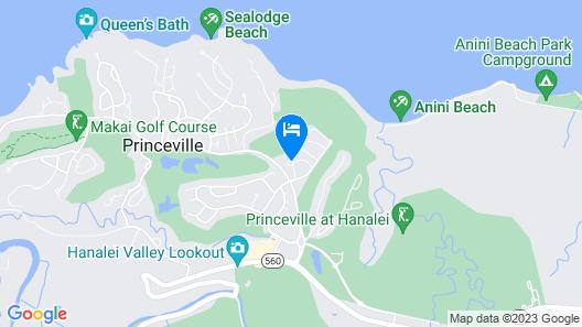 Club Wyndham Ka 'Eo Kai Map