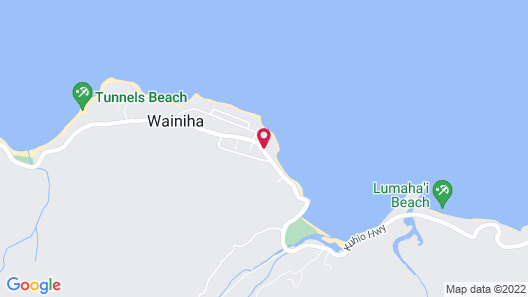 Hanalei Colony Resort Map