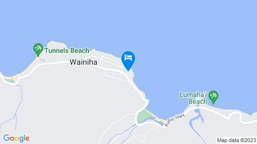 Hanalei Colony Resort E3 - 1 Br Condo Map