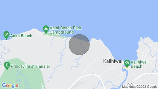 Beautiful Plumeria Cottage-Anini Beach Plantation Style Home Map