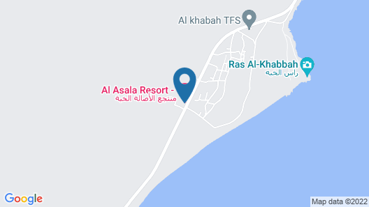 Al Asala Resort Map