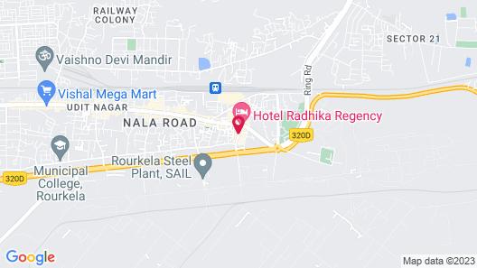 Hotel Kanisshk Inn Map