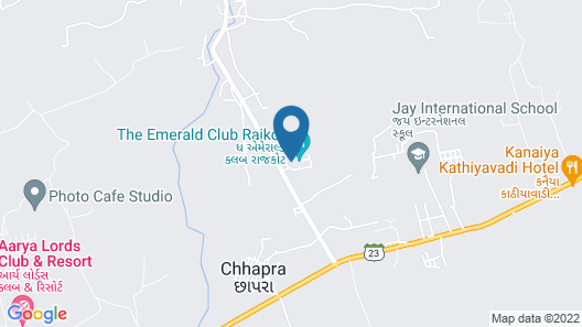 The Emerald Club Map