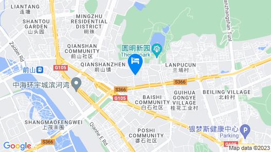 Pullman Zhuhai Map