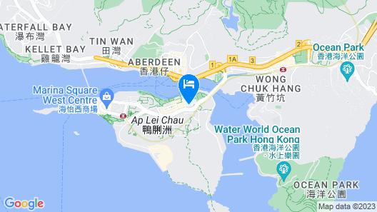 Bridal Tea House Hotel Ap Lei Chau Wai Fung Street Map
