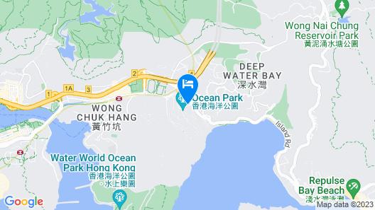 Hong Kong Ocean Park Marriott Hotel Map