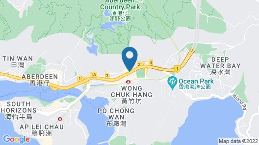 L'hotel Island South Map