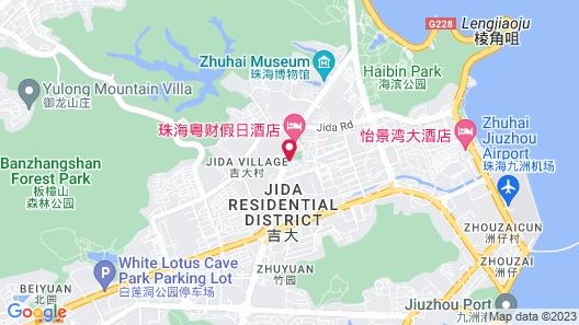Catic Hotel Zhuhai Map