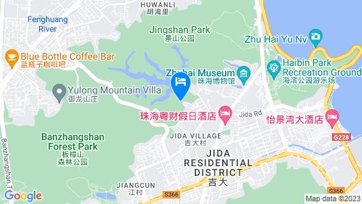 Crowne Plaza Zhuhai City Center, an IHG Hotel Map