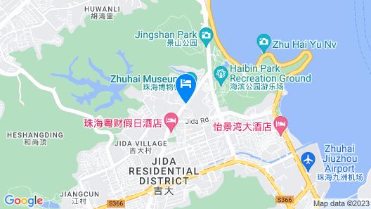 Zhuhai Marriott Hotel Map