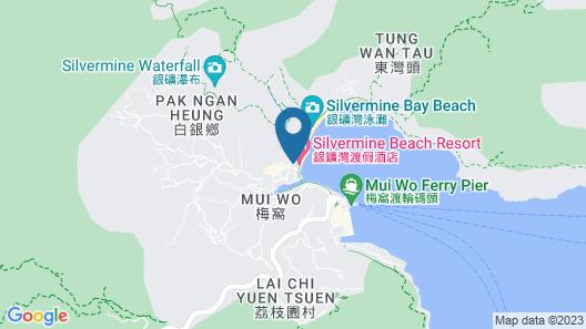 Silvermine Beach Resort Map