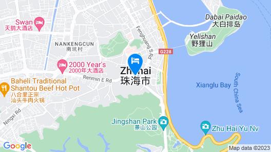 Hilton Garden Inn Zhuhai Hengqin Sumlodol Park Map