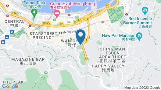Dorsett Wanchai Hong Kong Map