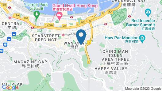 The Emperor Hotel Map