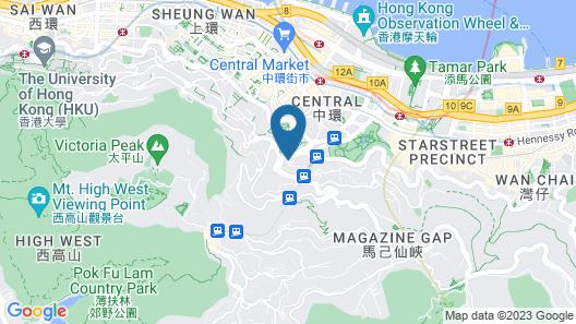 Garden View Hong Kong Map