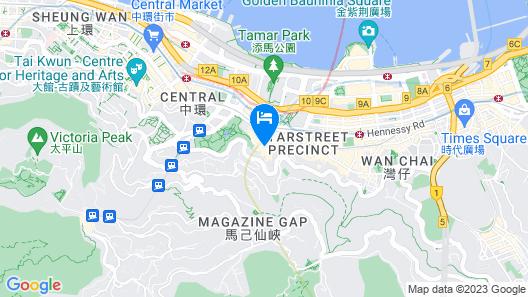 Conrad Hong Kong Map