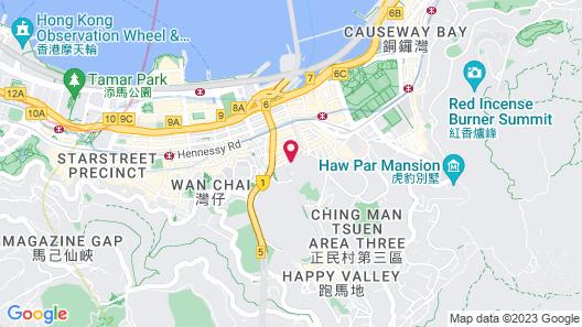 Crowne Plaza Hong Kong Causeway Bay, an IHG Hotel Map