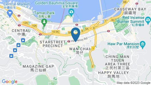 Wanchai 88 Hotel Map