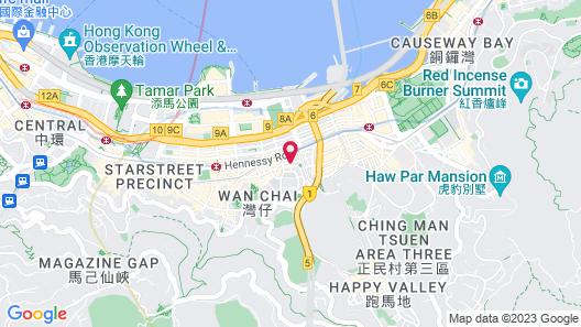 Charterhouse Causeway Bay Map
