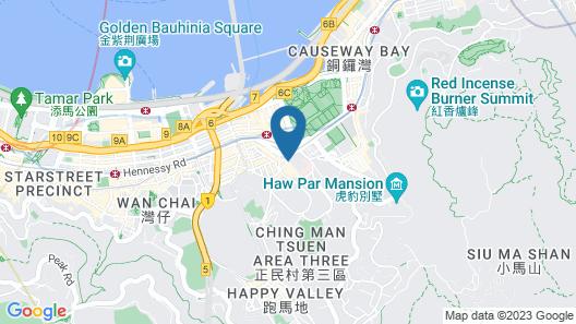 Lanson Place Causeway Bay, Hong Kong Map