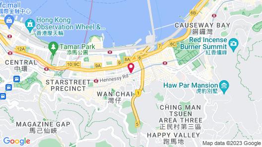 Walden Hotel Map