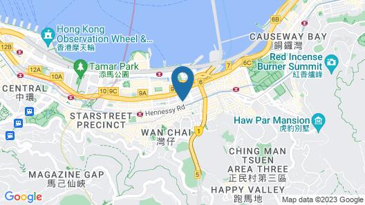 The Hari Hong Kong Map
