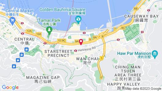 The Fleming Hong Kong Map