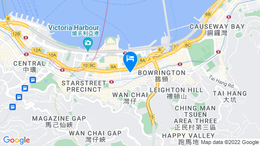 Novotel Century Hong Kong Map
