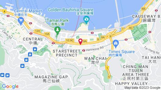 Gloucester Luk Kwok Hong Kong Map