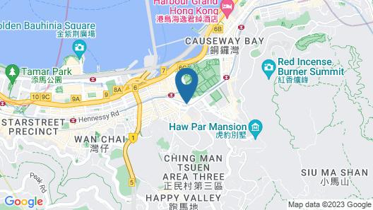 Regal Hongkong Hotel Map