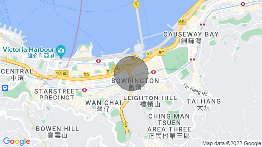 Causeway Bay Sea View Firework Comfortable Apartment Map
