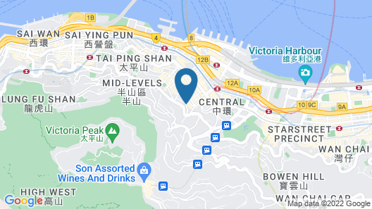 Ovolo Central Map