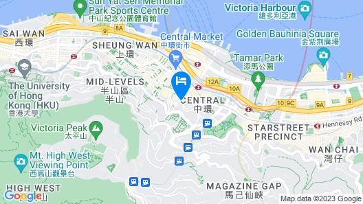 Mini Hotel Central Map