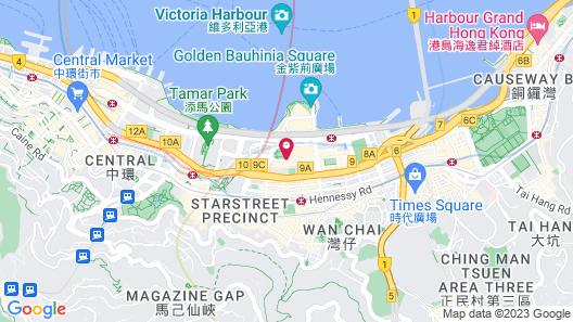 Grand Hyatt Hong Kong Map