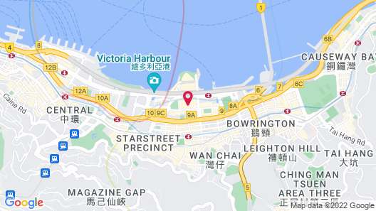 Renaissance Hong Kong Harbour View Hotel Map
