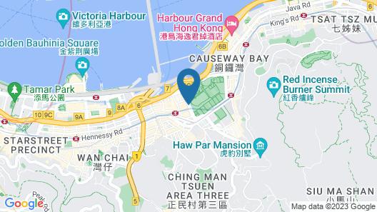 The Park Lane Hong Kong, a Pullman Hotel Map