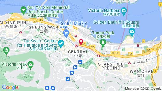 Mandarin Oriental, Hong Kong Map