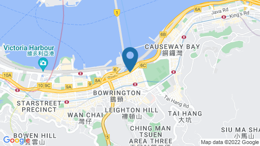 The Excelsior Hong Kong Map