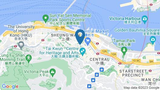 Lan Kwai Fong Hotel @ Kau U Fong (Designated Quarantine Hotel) Map